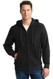 Super Heavyweight Full-zip Hooded Sweatshirt Black Thumbnail