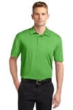 Sport-Tek Heather Contender Polo Turf Green Heather Thumbnail