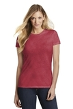 Women's Fitted Perfect Tri Tee Red Frost Thumbnail