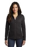 Women's OGIO Grit Fleece Jacket Blacktop Thumbnail