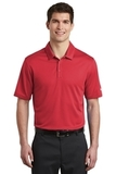 Nike Golf Dri-FIT Hex Textured Polo Gym Red Thumbnail