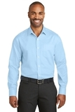 Red House Slim Fit NonIron Twill Shirt Heritage Blue Thumbnail