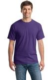 Heavy Cotton 100 Cotton T-shirt Lilac Thumbnail