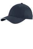 Unstructured Sandwich Bill Cap Navy with White Thumbnail