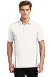 Sport-Tek Contrast PosiCharge Tough Polo White with Heather Grey Thumbnail