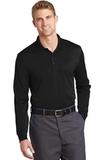 Select Snag-Proof Long Sleeve Polo Black Thumbnail