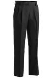 Women's Pleated Pant Black Thumbnail