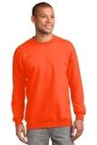 Tall Ultimate Crewneck Sweatshirt Safety Orange Thumbnail