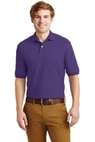 Spotshield 5.6-ounce Jersey Knit Polo Shirt Deep Purple Thumbnail