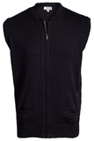 Two Pocket Zipper Vest Navy Thumbnail