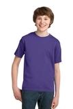 Youth Essential T-shirt Purple Thumbnail