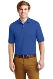 Spotshield 5.6-ounce Jersey Knit Polo Shirt Royal Thumbnail