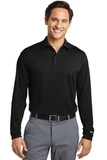 Nike Golf Shirt Long Sleeve Dri-FIT Stretch Tech Polo Black Thumbnail