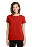 Women's Ultra Cotton 100 Cotton T-shirt Red Thumbnail