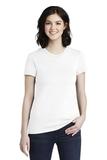 Women's Fine Jersey T-Shirt White Thumbnail
