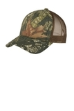 Structured Camouflage Mesh Back Cap Mossy Oak New Break UP with Brown Thumbnail