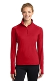 Women's Stretch 1/2-zip Pullover True Red Thumbnail