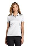 Women's Nike Golf Dry Essential Solid Polo White Thumbnail