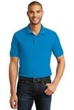 6.5-Ounce 100 Double Pique Cotton Sport Shirt Sapphire Thumbnail