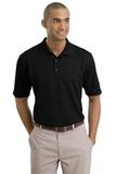 Nike Golf Shirt Dri-FIT Textured Polo Black Thumbnail