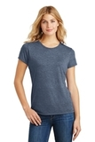 Women's Made Perfect Tri Crew Tee Navy Frost Thumbnail