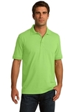 Port Company Tall 5.5-ounce Jersey Knit Polo Lime Thumbnail