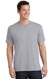 5.5-oz 100 Cotton T-shirt Silver Thumbnail
