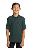 Port Company Youth 5.5-ounce Jersey Knit Polo Dark Green Thumbnail