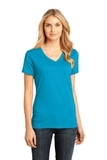 Women's Perfect Weight V-neck Tee Bright Turquoise Thumbnail