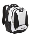 OGIO Bullion Pack White with Black and Silver Thumbnail