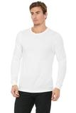 BELLACANVAS Unisex Jersey Long Sleeve Tee White Thumbnail