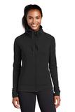 Women's Sport-wick Stretch Full-zip Jacket Black Thumbnail