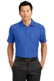 Nike Golf Dri-FIT Embossed Polo Storm Blue Thumbnail