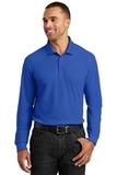 Long Sleeve Core Classic Pique Polo True Royal Thumbnail