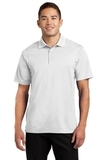 Tall Micropique Sport-wick Polo White Thumbnail