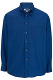 Men's Button Down Poplin Shirt LS Royal Thumbnail