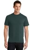 50/50 Cotton / Poly T-shirt Dark Green Thumbnail