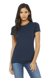BELLACANVAS Women's The Favorite Tee Heather Navy Thumbnail