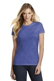 Women's Fitted Perfect Tri Tee Royal Frost Thumbnail