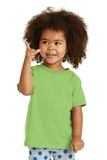 Toddler 5.4-oz 100 Cotton T-shirt Lime Thumbnail