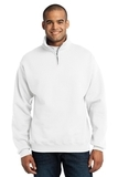 1/4-zip Cadet Collar Sweatshirt White Thumbnail