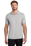 Nike Golf Victory Textured Polo Wolf Grey Heather Thumbnail