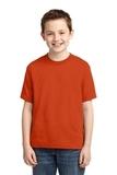 Youth 50/50 Cotton / Poly T-shirt Burnt Orange Thumbnail