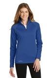 Women's Eddie Bauer 1/2-Zip Base Layer Fleece Cobalt Blue Thumbnail