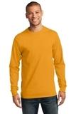 Essential Long Sleeve T-shirt Gold Thumbnail