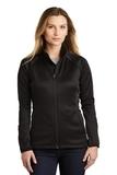 Women's The North Face Canyon Flats Stretch Fleece Jacket TNF Black Thumbnail
