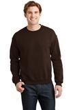 Heavy Blend Crewneck Sweatshirt Dark Chocolate Thumbnail