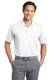 Nike Golf Dri-FIT Vertical Mesh Polo White Thumbnail