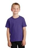 Youth 5.5-oz 100 Cotton T-shirt Purple Thumbnail