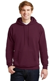 Comfortblend Pullover Hooded Sweatshirt Maroon Thumbnail